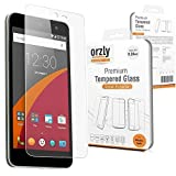 "Orzly - Premium Tempered Glass Screen Protector for WileyFox Swift SmartPhone (Original 5"" HD Screen Version/16GB ROM Model - 2015) - 0.24mm Protective Oleophopbic Screen Guard - Transparent"