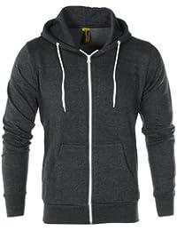Raiken® Apparel Flex Fleece Zip Up Hoody Hoodie Jumper Mens Size 76610de72