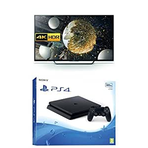 Sony Bravia 65 inch Android 4K + Sony PlayStation 4 500GB