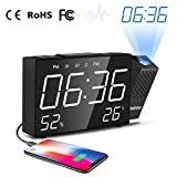 Best Projection Clocks - Cadrim Projection Alarm Clock With Big Snooze Button Review