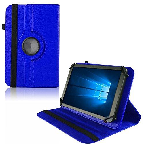 UC-Express Hülle Blaupunkt Enterprise 1020CH Tablet Tasche Schutzhülle Universal Case Cover, Farben:Blau