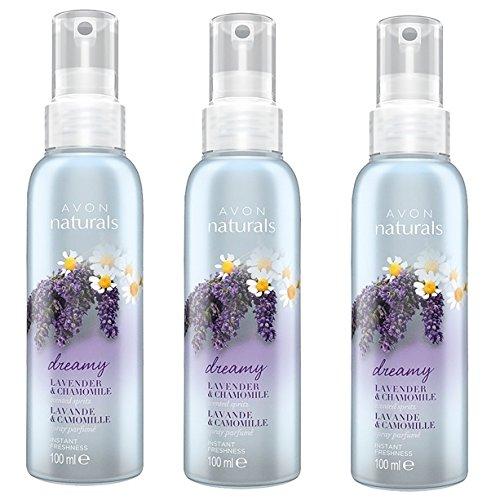 3 X Avon Naturals Lavender & Chamomile Room & Linen Spray (3 Avon Naturals)