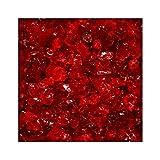 5 kg Glassplitt Glasbruch Glassteine Glas Splitt Deko Rot