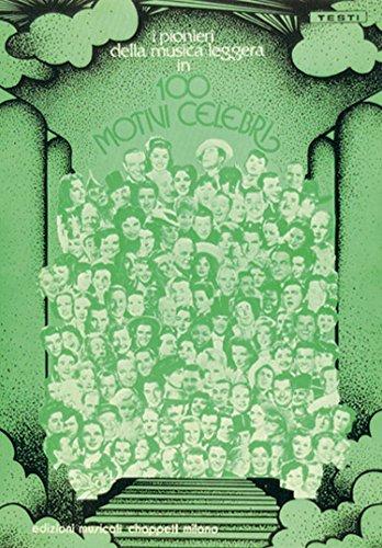 CARISCH 100 MOTIVI CELEBRI - PAROLES ET ACCORDS Continental Dolly