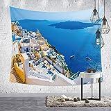 mmzki Colgante de Tela Nórdico Fondo Decorativo tapicería de Tela tapicería Decorativa HT037 230 * 150 cm