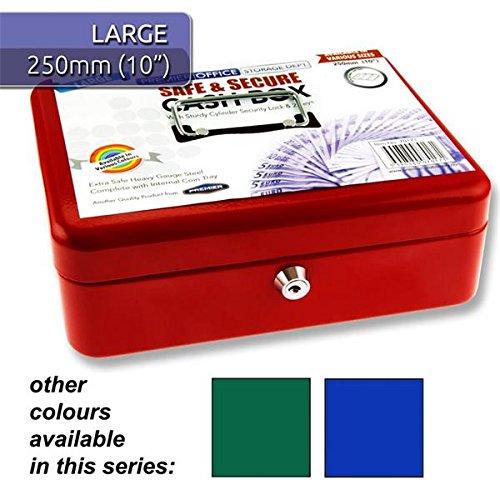 Premier Stationery h277017125,4cm Büro Metall Geldkassette mit Münzeinsatz, mehrfarbige (3Stück)