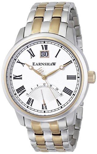 Thomas Earnshaw ES-8033-22 - Reloj de Pulsera Hombre, Color Plata