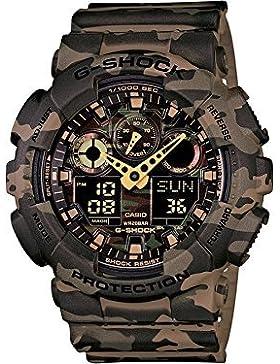 Casio - Herren -Armbanduhr GA-100CM-5AER
