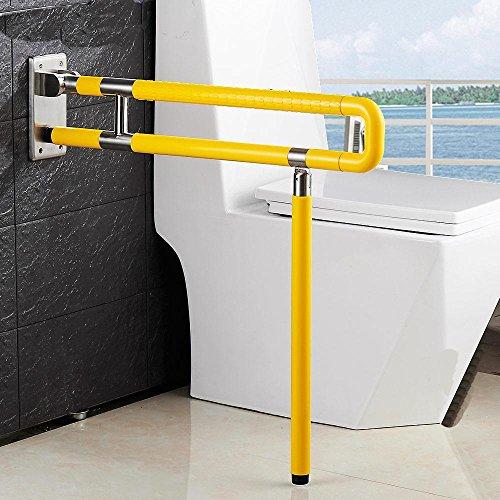 SAEJJ-Christmas gift75cm rutschfeste Barriere freie klappbare Sicherheit Schienen ältere Behinderte Bad WC Toilette Griff nylon