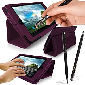 "ASUS MeMO Pad 10"" Tablet Case - G-HUB PropUp PURPLE Stand"