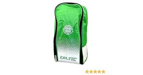 e8c8d4417 Celtic FC Football Team Fade Boot Shoe Zip Bag with Handle  Amazon.co.uk   Shoes   Bags