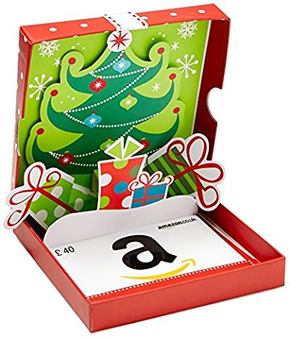 Amazon.co.uk Gift Card - In a Gift Box - £40 (Christmas Pop-Up)