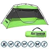 EasyGoProducts Insektenschutz – Moskuito-Zelt – für drinnen und draußen, Pop-Up-Moskitonetz – 216 x 99 x 89 cm
