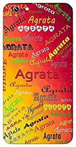 Agrata (Popular Girl Name) Name & Sign Printed All over customize & Personalized!! Protective back cover for your Smart Phone : Moto G3 ( 3rd Gen )