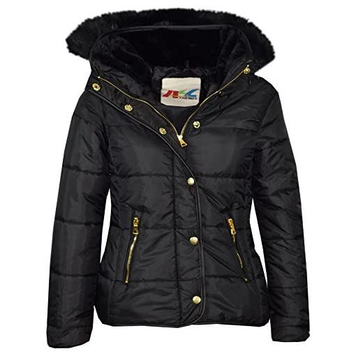 A2Z-4-Kids-Girls-Jacket-Kids-Designers-Black-Padded-Puffer-Bubble-Faux-Fur-Collar-Quilted-Warm-Thick-Coat-Jackets-Age-3-4-5-6-7-8-9-10-11-12-13-Years