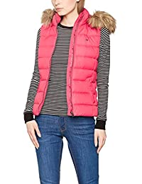 Hilfiger Denim Thdw Basic Down Vest 1, Manteau Femme