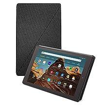 Fire HD 10-Tablet Hülle (kompatibel mit Tablets der 9. Generation, 2019), Kohlenschwarz