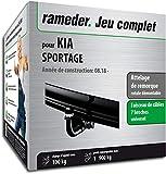 Rameder Attelage rotule démontable pour KIA SPORTAGE + Faisceau 7 Broches...