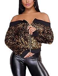 1b148ad1c9 Amazon.it: Oro - Giacche e cappotti / Donna: Abbigliamento