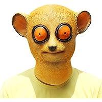 PartyCostume Máscara de Cabeza Animal de Látex de Fiesta de TrajeLujo de Halloween de Nycticebus