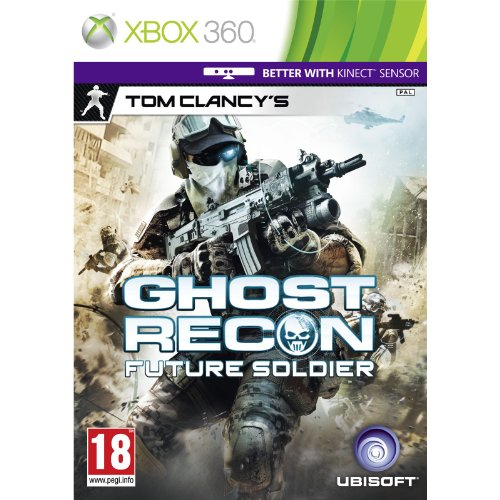 [UK-Import]Tom Clancys Ghost Recon Future Soldier (Kinect Compatible) Game XBOX 360