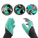 Garten Genie Handschuhe, wyurhjh® Gardening, mit Krallen zum Graben, Gardening Pflanzen Handschuhe