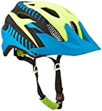 Alpina Kinder Radhelm Carapax JR Flash, Blue/Yellow/Black, 51-56, 9697182