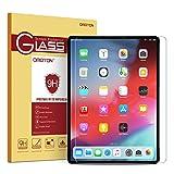 OMOTON per iPad PRO 12.9 Pollici 2018 Pellicola Protettiva in Vetro Temperato - Bordi Arrotondati 2.5D - Anti-Graffi - Durezza 9H - 99% di Trasparenza e Sensibilità