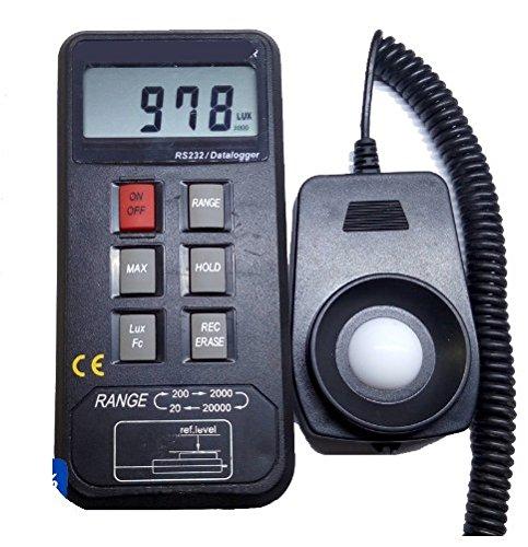 Gowe Tragbare Lichtmesser Digital Lux Messgerät Tester