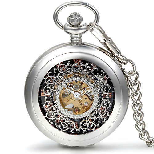 jewelrywe-classic-silver-hollow-floral-carved-roman-numerals-mechanical-pocket-watch-with-15-inch-ch