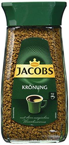 Jacobs löslicher Kaffee Krönung, 2er Pack (2 x 200 gm)