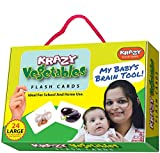 #7: Krazy Vegetables - Flash Cards