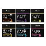Espresso- 60 Cápsulas de Café Compatibles con Máquinas Nespresso - SELECCIÓN CLÁSICOS