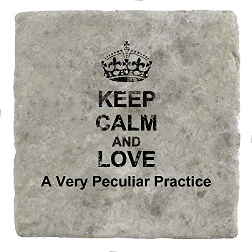 Keep Calm and love A Very Peculiar Practice - Marble for sale  Delivered anywhere in UK