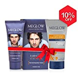 #5: Meglow Premium Fairness-Men (Fairness Cream + Fairness Facewash)