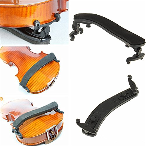 LaDicha Weiche Violin-Shoulderreale Adjustable Black Support Für Violine 1/2 2/4