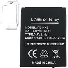 Smart Watch batería dz09batería de litio recargable con 380mAh Capacidad