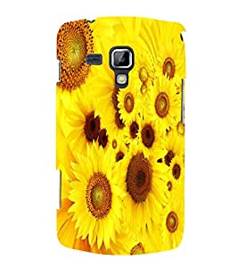 PrintVisa Designer Back Case Cover for Samsung Galaxy S Duos 2 S7582 :: Samsung Galaxy Trend Plus S7580 (Artistic Floral Pattern)