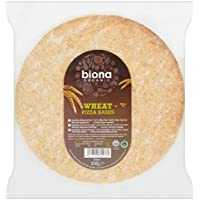 Biona Organic 2 Wholewheat Pizza Bases 300g