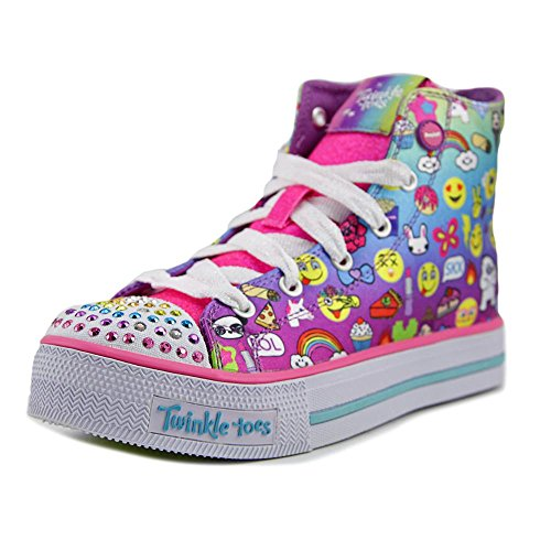 Skechers Shuffles-Chat Time, Formateurs Fille