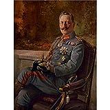Wee Blue Coo LTD Paintings Portrait Kaiser Wilhelm Ii