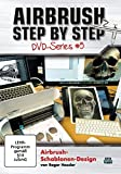 Airbrush Step by Step DVD-Series #5: Airbrush-Schablonen-Design