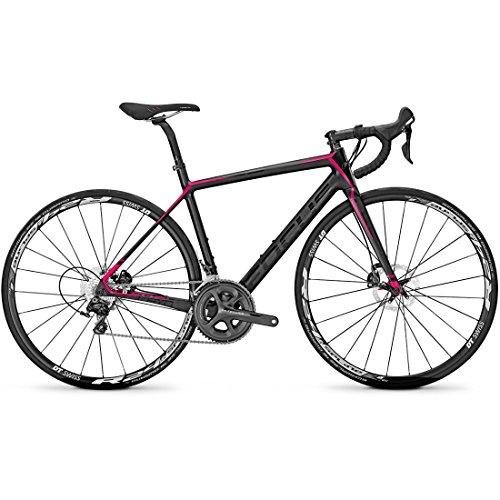 Rennrad Focus CAYO DISC DONNA ULTEGRA 22G 28 Zoll, Rahmenhöhen:48;Farben:carbon/pink/grey