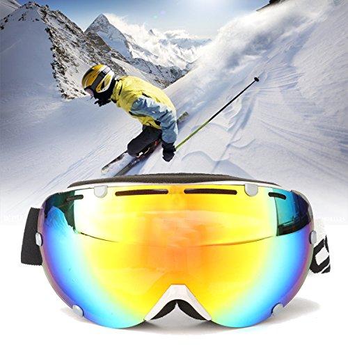 AUDEW Sci Occhiali Goggles Scooter ATV Cross Pilota Protezione Anti-UV - Sci Caschi
