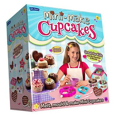 John Adams – Mini-Make Cupcakes – Kit de Création de Mini Patisseries