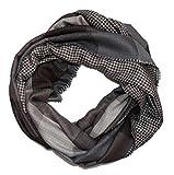 Sciarpa con strisce intramontabile design. Questa sciarpa unisce estetica particolare con una leggerezza sportive. Il tessuto è traspirante e di alta qualità.