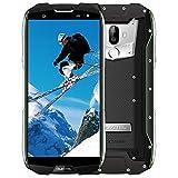 Telephone Portable Debloqué,OUKITEL WP5000 Smartphone 4G IP68 Etanche Dual SIM, 6Go RAM+64Go ROM, 5.7 Pouces 18:9, Helio P25 Octa Core 2.5GHz, 16/5MP 8MP, 5200mAh, Android 7.1/Type-C/OTG/GPS - Vert