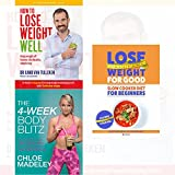 transform your body shape 4-week body blitz, how to lose weight well, slow cooker diet for beginners 3 books collection set - my complete diet, keep weight off forever, healthy rapid weight loss