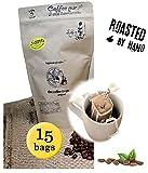 Life is You! - Hochlandkaffee aus Guatemala, Lampocoy Grand Cru, handgepflückt, in 15 coffee bags - für Becher - 15x10 GR - nicht einzeln verpackt (ohne Sachets)