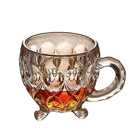 Verre à cristal Whisky Cups Verres à vin Bar Outils Verrerie Verres à bière 160 ML-A13